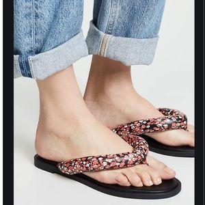 Rebecca Minkoff Senet Cushioned Thong Sandals